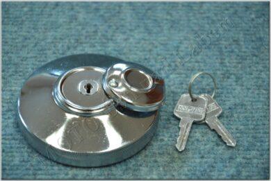 Cap, fuel filler lockable Elmoke ( Jawa,ČZ,MZ )(010711)