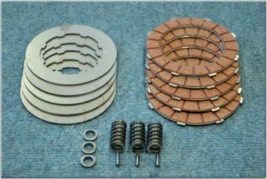 Disk, clutch friction - complete set ( Jawa,ČZ 125,175 )(050131)