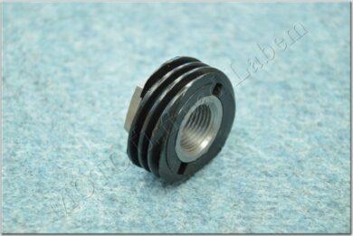 Nut+Wheel, tachometer drive worm gear ( Jawa 634-640 )(060282)