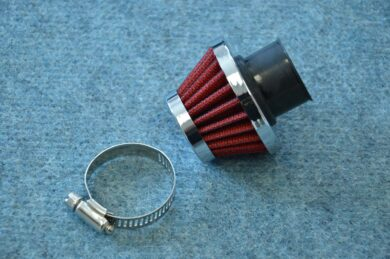 Air filter racing  D25, intake ( PIO, UNI )  (110607)