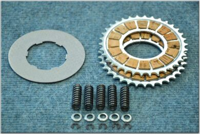 Disk, clutch friction - complete set ( Pionýr 20-23 ) cork  (111123)