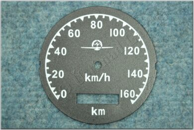 Dial, Speedometer 160km ( M72 ) D=77mm  (790002)