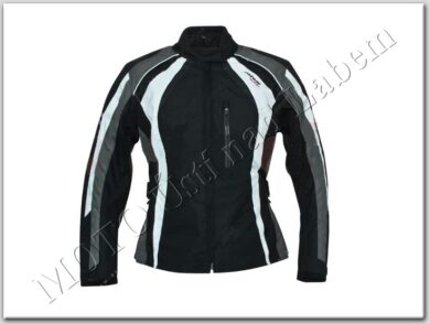 Jacket Lady Venedig, black-grey-white ( ROLEFF ) Size L  (880215)