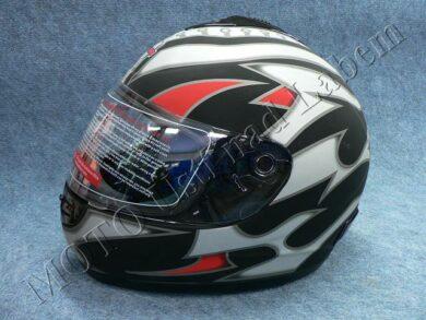 Full-face Helmet FF2 - embers black ( Motowell )(890126M)