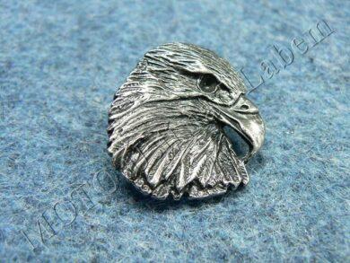 Pin badge Eagle head(930028)