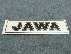 Sticker JAWA - black 140x35