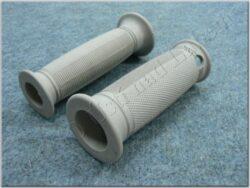 Grip, handlebar -  grey ( Pérák ) set 2pcs.
