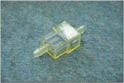 filtr paliva hranatý 6H6 ( UNI ) modrý