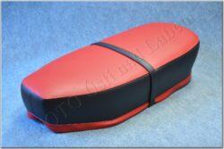 sedlo úplné - rovné, červenočerné ( Panelka )