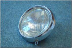 Headlight unit w/ rim ( Panelka ) /wo bulb, socket