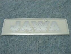 Sticker JAWA - silvery 140x35
