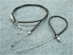 Bowden cables, Throttle valve 2pcs. ( Californian ) oilmaster