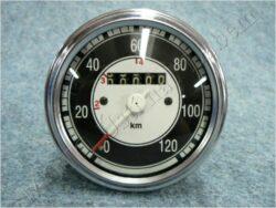 Speedometer 120 km/h ( Jawa 353,354 / ČZ )