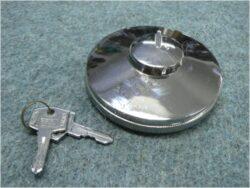 Cap, fuel filler lockable Unitech ( Jawa,ČZ,MZ )