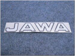 Sticker JAWA - white 167x35