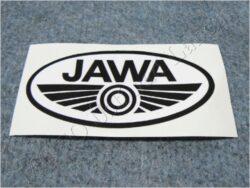 nálepka JAWA - černo / bílá 100x50