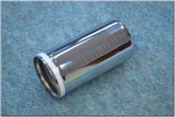 Case, shock absorber - lower, w/ ring ( Jawa,ČZ )
