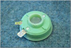Socket, headlight bulb - asymmetrical ( Jawa 634-639 ) CZK