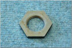 Nut, handlebar - hexagonal ( Jawa,ČZ ) orig.