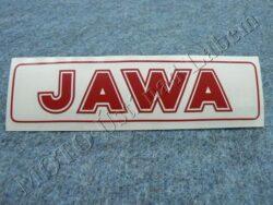 Sticker JAWA - red 140x35