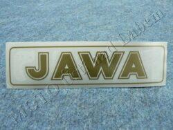 Sticker JAWA - gold 140x35