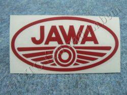 Sticker JAWA - red 100x50