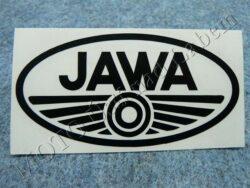Sticker JAWA - black 100x50