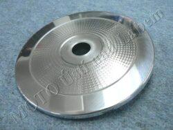 Cover w/ pattern, Fr. wheel hub ( Pan,634,638 )