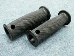 Grip, handlebar -  black ( Pérák FJ ) set 2pcs.