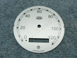ciferník tachometru 120 km ( Pérák - Zbrojovka)