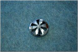 carburettor filter cover (Perak, Kýv) chrome