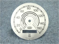 ciferník tachometru 160 km ( Jawa 500 OHC 01 ) PAL