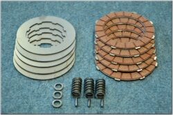Disk, clutch friction - complete set ( Jawa,ČZ 125,175 )