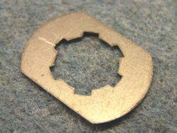 Safeguard, sprocket wheel nut ( ČZ, Pio, ETZ 125,150 )