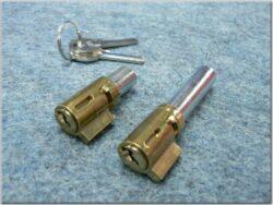 Locks, steering handlebar + seat, 2x key ( Jawa 634-639 )
