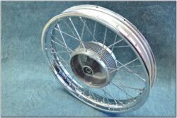 "wheel 18 ""x 2,15 - with seal (Jawa 634-638) chrome  (060301)"