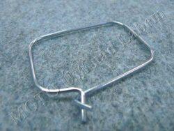 Clamp Fr., chain gaiter ( Jawa 634-640 )