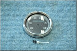 Repair kit - speedometer 140 km / h (ČZ,Bizon) black dial / 60mm