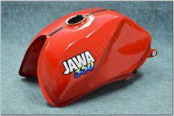 Fuel tank ( Jawa 640 ) red