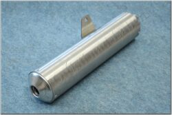 End cap L., Exhaust double chamber muffler ( Jawa 640 )