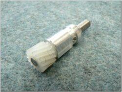 Gear pinion cpl., speedometer 15T. ( Jawa 638 - 640 ) orig. Jawa