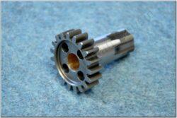 Gear wheel 19T. w/ hub-output shaft ( Jawa 634-640 ) orig. Jawa