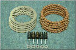 Disk, clutch friction - complete set ( Jawa 638-640 )