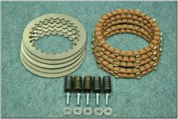 Disk, clutch friction - complete set ( Jawa 638-640 )