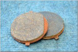 Pad set, brake 2pcs. ( Jawa 639-640 ) orig