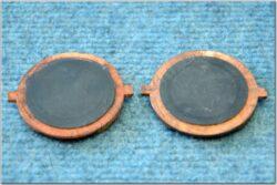 Pad set, brake 2pcs. ( Jawa 639-640 ) orig(080636)