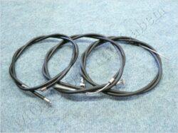 Bowden Cables, set 3pcs. ( Pionyr 550 ) SVK