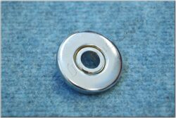 Cover, wheel bearing ( Pionýr 20-23 ) Matt chrome