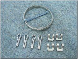 Clamps, fork gaiters - set 4pcs. ( Pionýr )