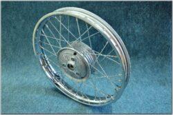 """wheel 16 """"x 1,5 complete - bare (Pio 05,20) chrome"""